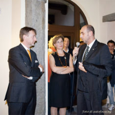 Agriturismo Polisena - Il sindaco di Pontida On. Vanalli