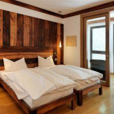 Camera da letto con sala relax - Agriturismo biologico Bergamo