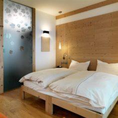 Camera da letto in agriturismo biologico a Bergamo