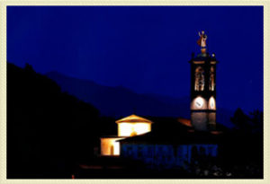 Pontida di sera - Valle San Martino