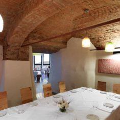 Sala volta - Polisena, ristorante biologico Bergamo