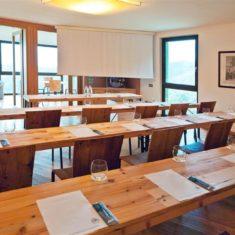 Sala meeting con vista panoramica - Agriturismo biologico Polisena