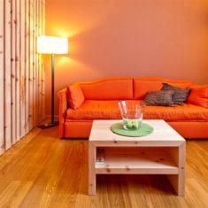 Area relax in suite con spa privata - Agriturismo biologico Polisena