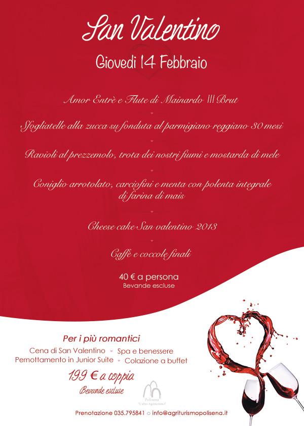 Cena di san valentino biologica e con vista panoramica a for Pensierini di san valentino