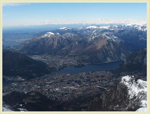 Monte Resegone tra Lecco e Bergamo