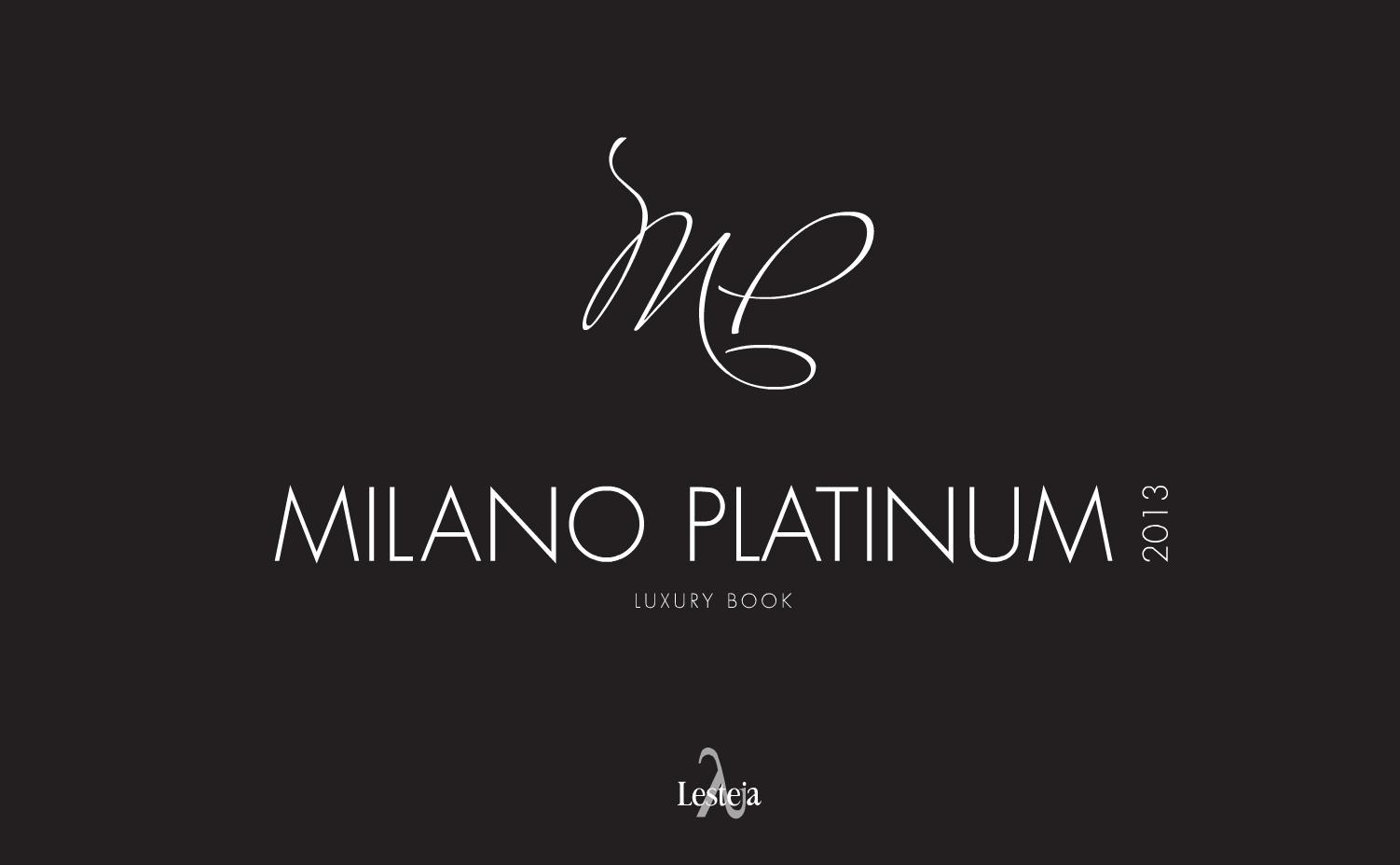 Milano Platinum 2013